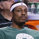 The Celtics must make a decision soon on the fate of Paul Pierce, left, with Kevin Garnett.